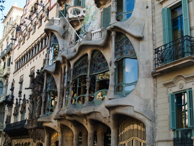 Famous art nouveau architecture - Art nouveau architecture de barcelone revisitee ...